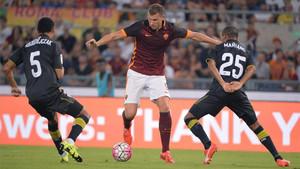 Sevilla y Roma ya se vieron las caras en un amistoso estival en 2015