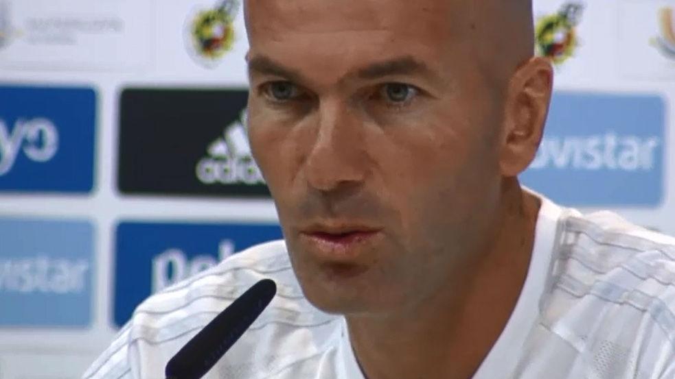Zidane: El que salga por Neymar lo hará bien, pero no será Neymar