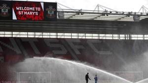 Imagen del St. Marys Stadium, escenario donde juega el Southampton