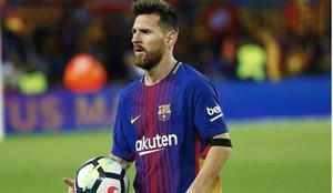 Messi se llevó otro balón a su casa