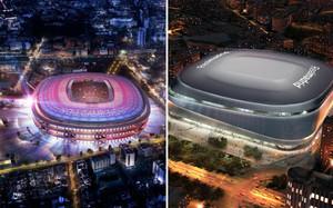Así será el Nuevo Camp Nou y el Nuevo Santiago Bernabéu