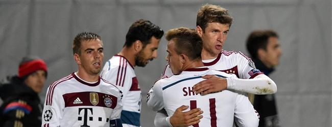 El Bayern logra un triunfo muy 'cerrado'