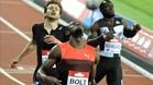 Bolt no tuvo problemas para imponerse en Londres en los 200 metros