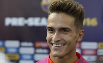 """Denis Su�rez: \""""Messi tiene un peinado 'top' para un jugador 'top'\"""""""