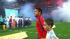 Neymar llegó tarde al partido OM-PSG