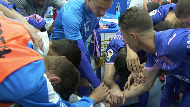 LALIGA | Leganés - FC Barcelona (0-3): El vestuario del Leganés lo tenía todo bajo control