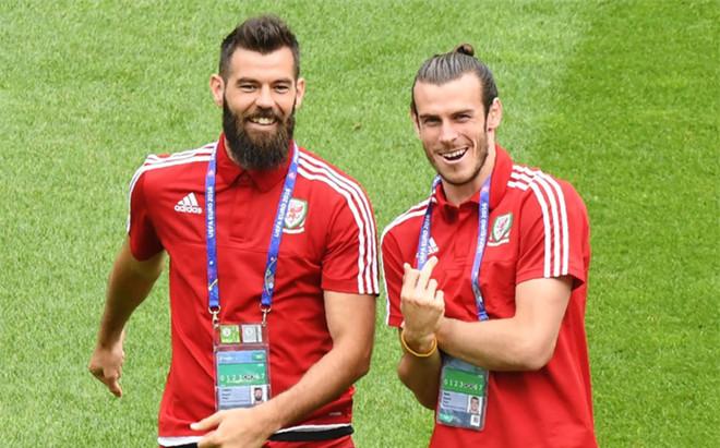 Ledley y Bale, tras un entrenamiento
