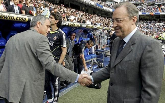 Mourinho dice no a Florentino P�rez