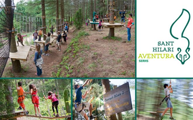 Parque Sant Hilari Aventura - Emoci�n, aventura, diversi�n...
