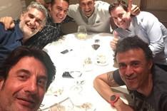 El selfie que colg� Luis Enrique