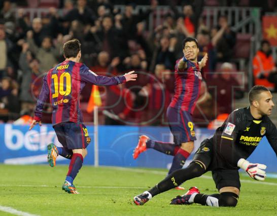 صور : مباراة برشلونة - فياريال 3-1 ( 11-02-2015 ) 1423690374161