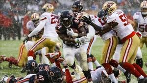 Chicago Bears se impuso, con su récord de anotación de la temporada, a San Francisco 49ers
