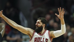 Nikola Mirotic, con los Chicago Bulls