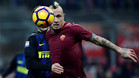 Nainggolan brilló ante el Inter