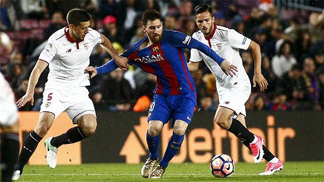 Video resumen FC Barcelona - Sevilla (3-0). Jornada 30, Liga Santander 2016-17