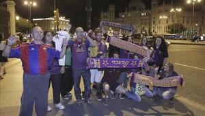 La afición del Barça no fallará en la final de la Copa