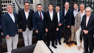Belletti es uno de los embajadores del Barça Legends