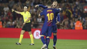 Leo Messi es decisivo marcando y dando asistencias