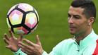 Cristiano Ronaldo está con su selección