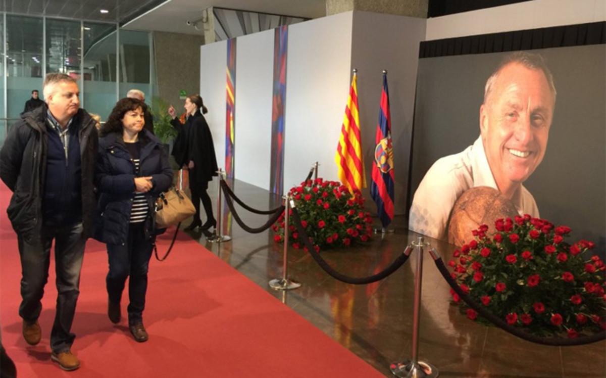 La familia de Johan Cruyff clausurar� el martes el memorial