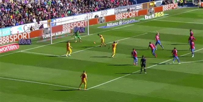 El gol anulado a Messi por fuera de juego