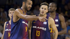 Hanga y Heurtel, dos de las caras nuevas de este Barça Lassa
