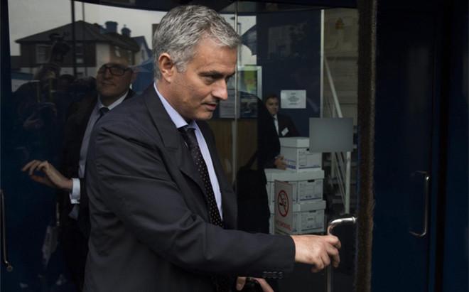 Jose Mourinho, m�nager del Manchester United