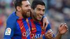 Messi y Suárez, con la lucha por una Bota de Oro al rojo vivo