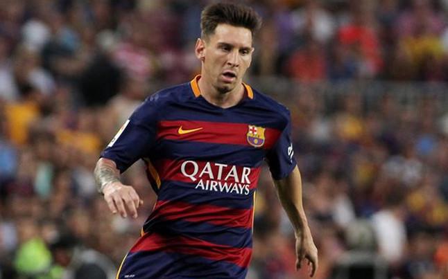 Leo Messi, suplente ante el Atlético
