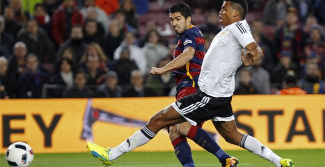 Mira los cuatro goles del 'killer' Luis Su�rez