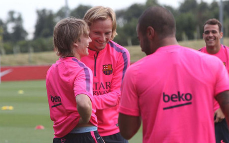 Rakitic destac� la calidad de su compatriota Halilovic