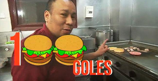 El secreto del gol 100 de Torres es ... �una hamburguesa!