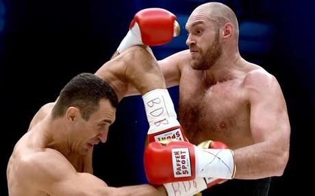 Tyson Fury pas� por encima de Wladimir Klitschko el 28 de noviembre en Dusseldorf