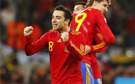 Xavi Hernandez, uno de los mejores jugadores de la historia de la selecci�n