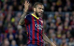 Alves acaba contrato el 30 de junio de 2015