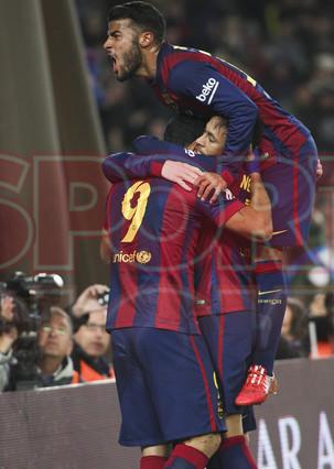 صور : مباراة برشلونة - فياريال 3-1 ( 11-02-2015 ) 1423690253871