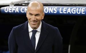 Zidane celebró la clasificación ante la Roma