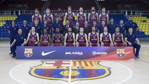 La foto oficial del Barça Lassa 2016-17