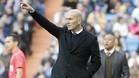 Zidane lamentó las ocasiones falladas ante el Málaga