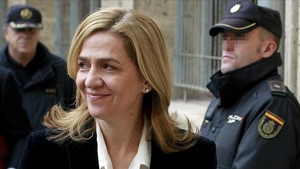 La Infanta Cristina, absuelta