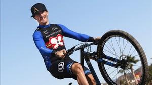 Carlos Coloma se tomará con calma la Andalucía Bike Race