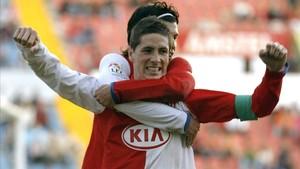 Torres debutó en 2001 con el Atlético y en 2007 fue traspasado al Liverpool