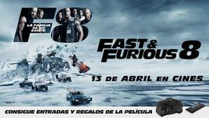 Consigue una entrada doble para el pase especial de Fast & Furious 8 en Madrid