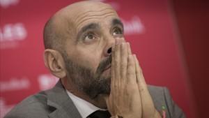 Monchi estalló ante los rumores de su contratación por la Roma