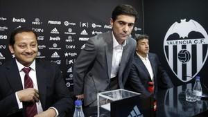 Marcelino afronta con ilusión el reto de entrenar al convulso Valencia