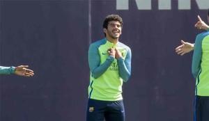 Carles Aleñá está feliz de seguir en el Barcelona