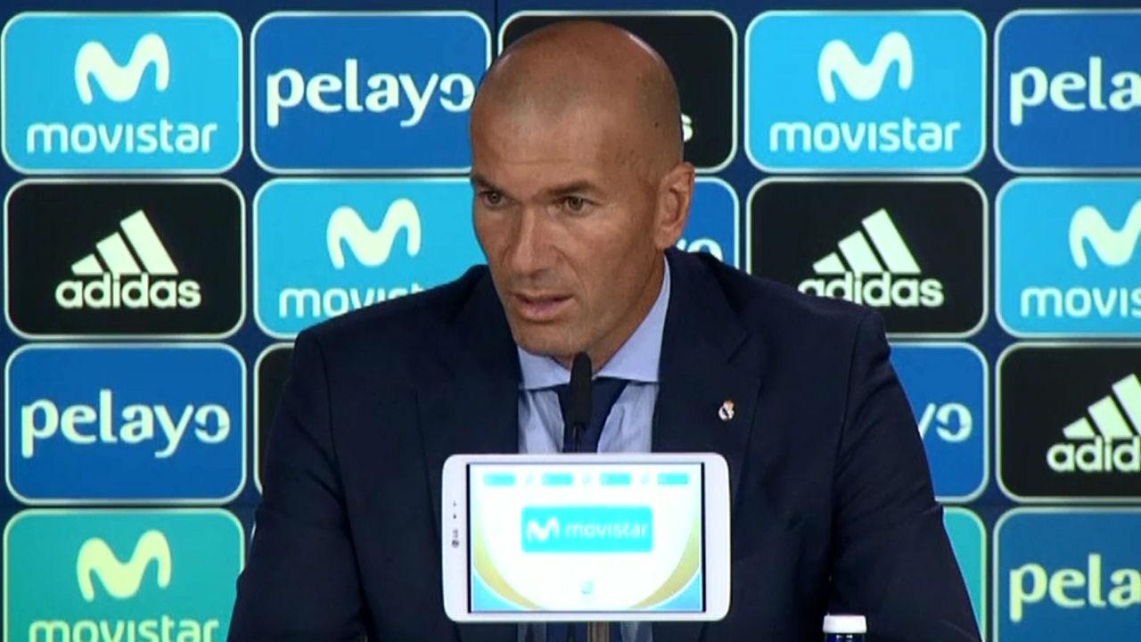 Zidane: ¿Lo importante es creer y hemos creído en lo que hacemos¿