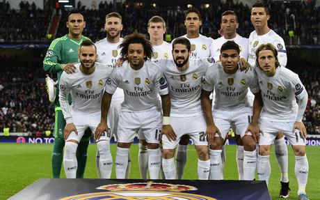 Alineaci�n del Real Madrid