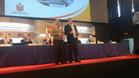 Odriozola recibe el homenaje de la asamblea de la Federación Española