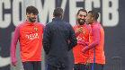 As� ha entrenado el Bar�a antes de enfrentarse al Valencia